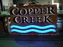 Copper Creek Reverse Channel with Open Faced Neon
