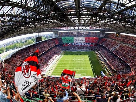 Milan công bố dự án sân vận động mới