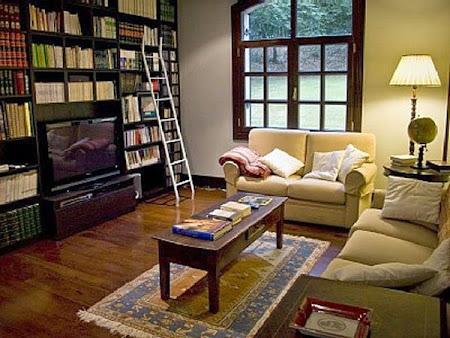 Ideas para crear una biblioteca en casa