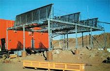 태양열 온수제조 시스템