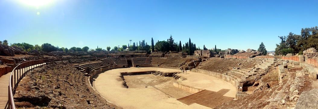 Anfiteatro romano, Mérida