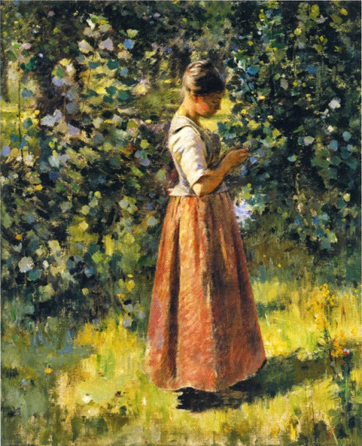 Theodore Robinson - In the Grove