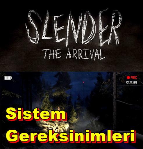 Slender: The Arrival PC Sistem Gereksinimleri