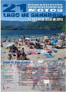 Cartel XXI Concentración Lago de Sanabria 2013
