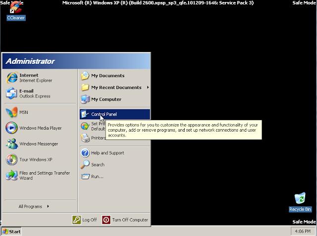 Cách xóa bỏ mật khẩu Windows XP khi quên đơn giản 3