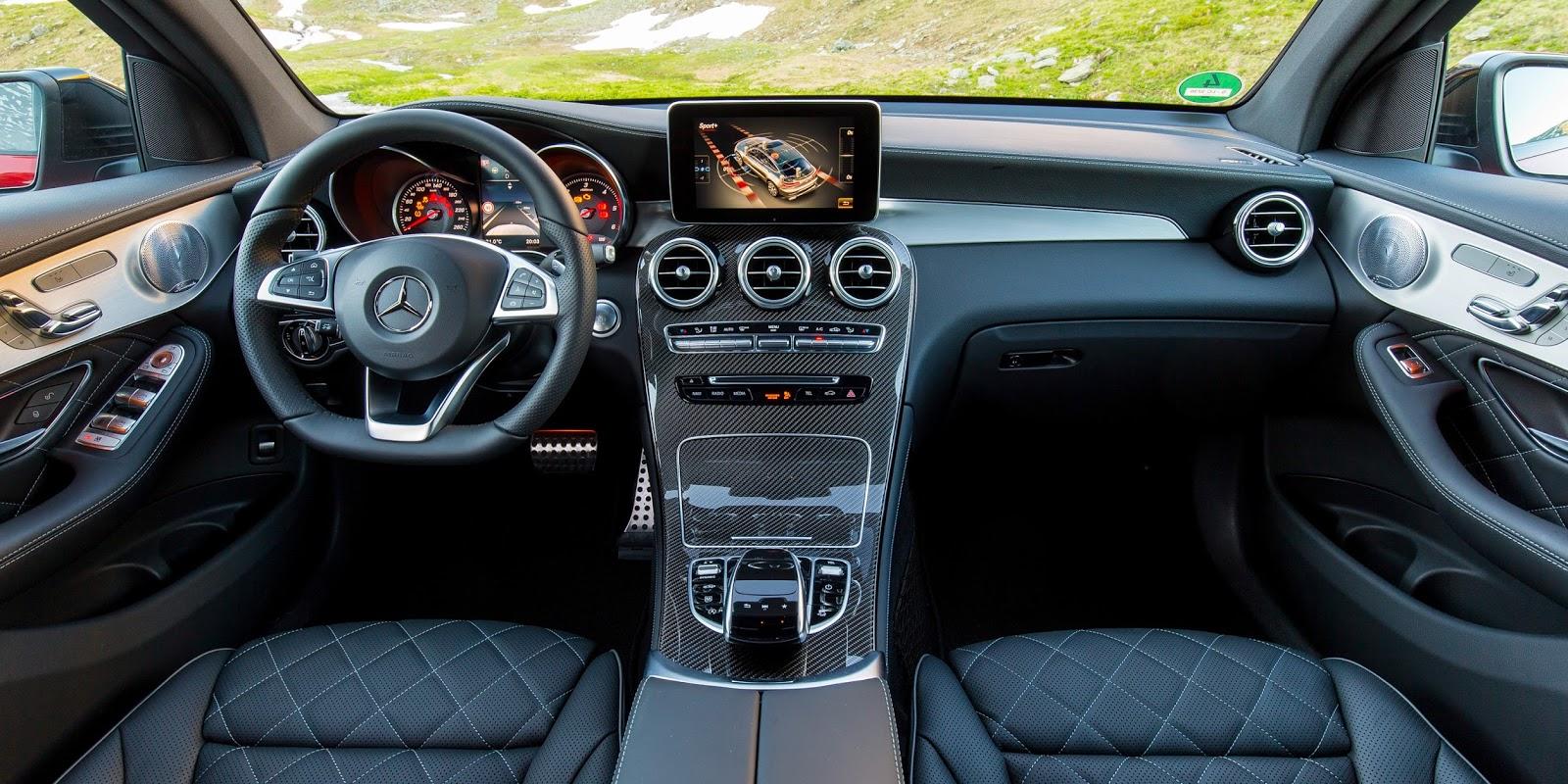 Nội thất của GLC Coupe thực sự kiến người khác phải xao xuyến