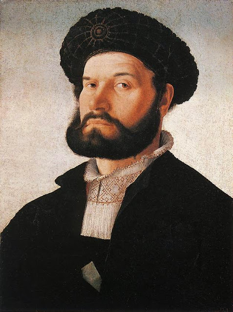 Jan van Scorel - Portrait of a Venetian Man