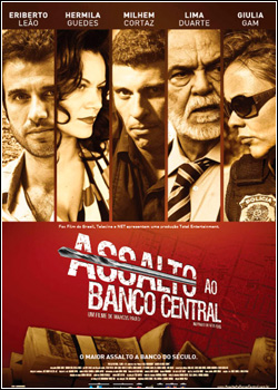 Filme Poster Assalto ao Banco Central DVDScr XviD & RMVB Nacional
