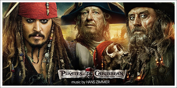 Pirates of the Caribbean:  On Stranger Tides (Soundtrack) by Hans Zimmer - Review
