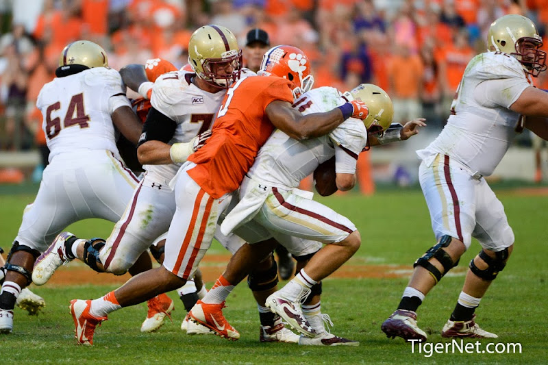 Boston College vs Clemson Photos - 2013, Boston College, Football, Vic Beasley