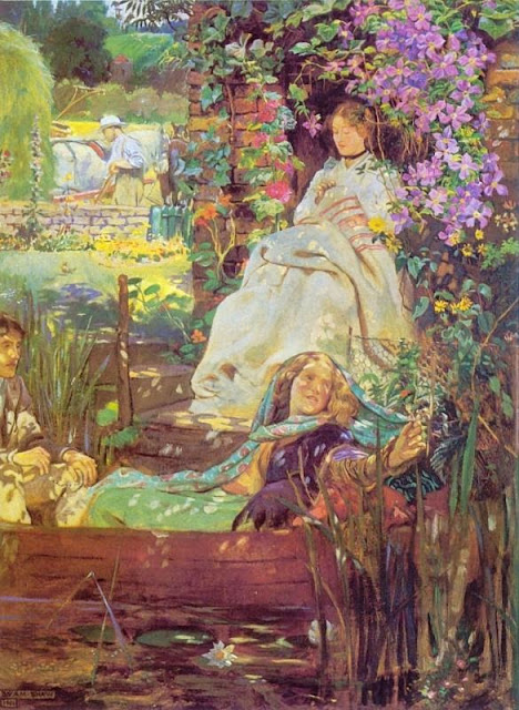 Byam Shaw - Truly the light is sweet.
