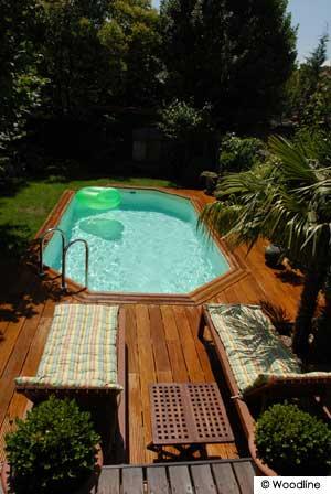 Piscine fuori terra in legno piscine fuori terra in legno - Piscina fuori terra interrata ...