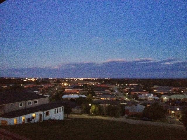 dusk view
