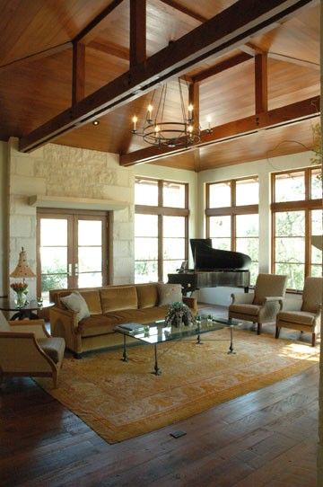 The High Ceiling And Placement Of This Piano Really Creates A Statement In  This Space.
