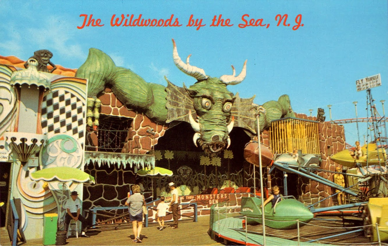 Vintage Wildwoods By The Sea