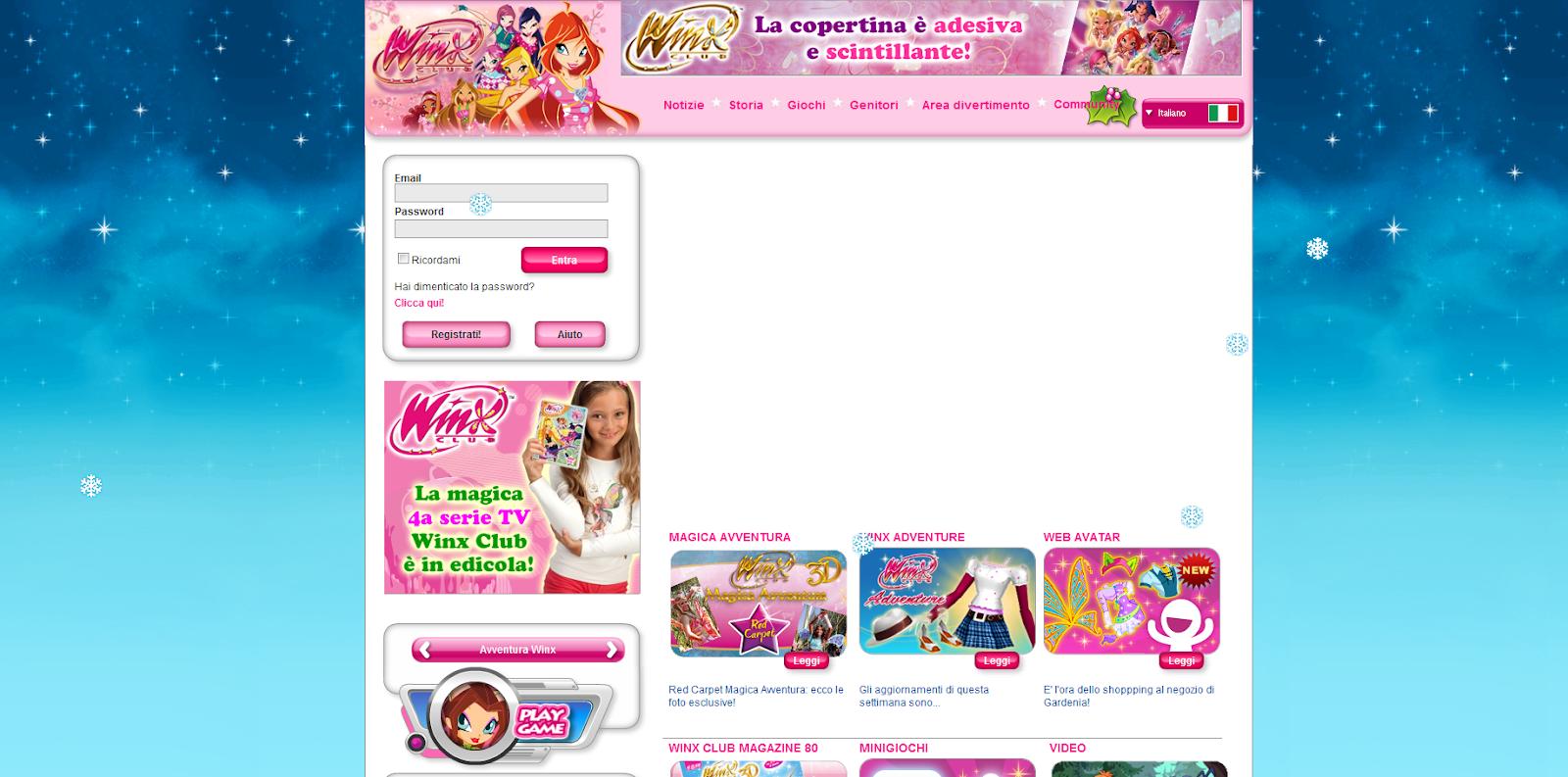 club web de