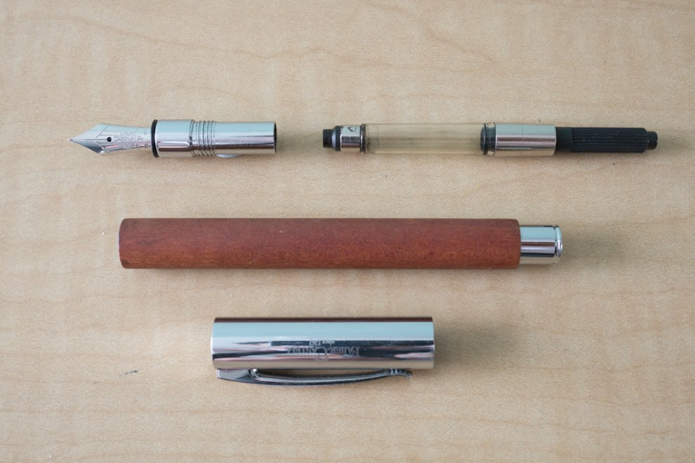 Faber Castell Pearwood Ambition Fountain Pen