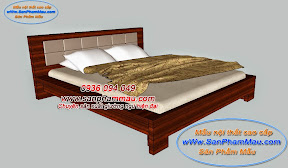 Giường ngủ bọc nệm