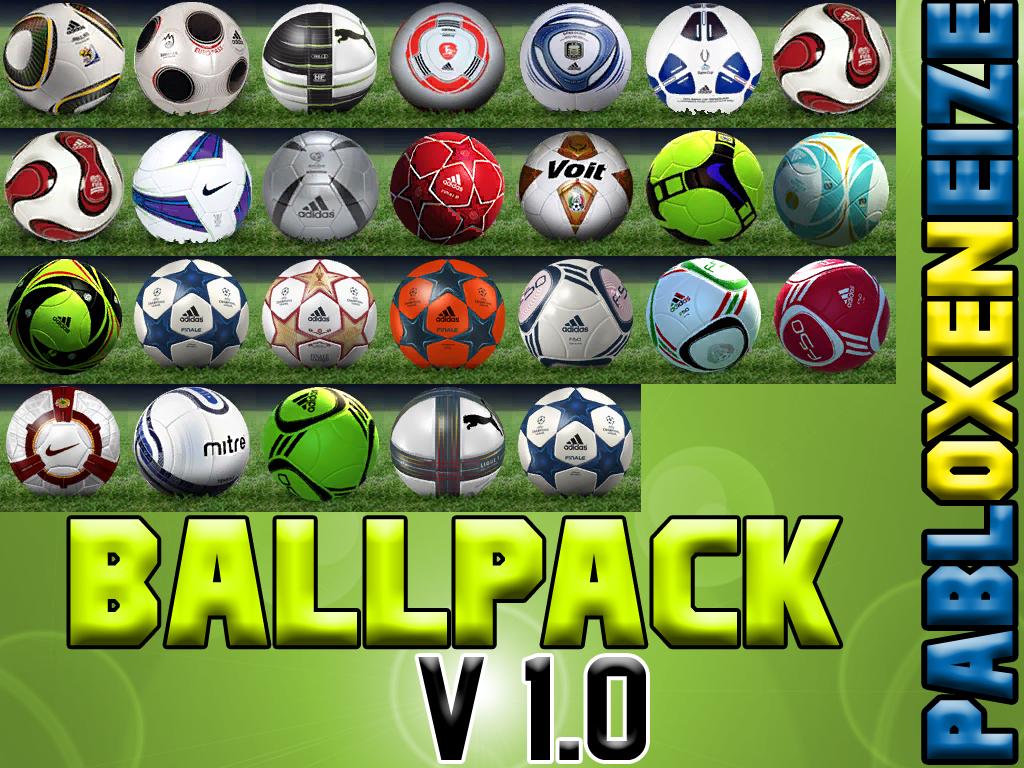 Balones 2012 Para Pes 6