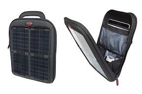 Bolso Delgado Para iPad con Paneles Solares