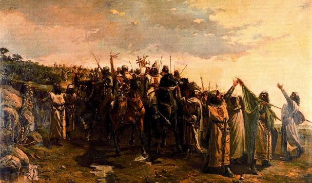 Batalla de Las Navas de Tolosa, por Víctor Morelli
