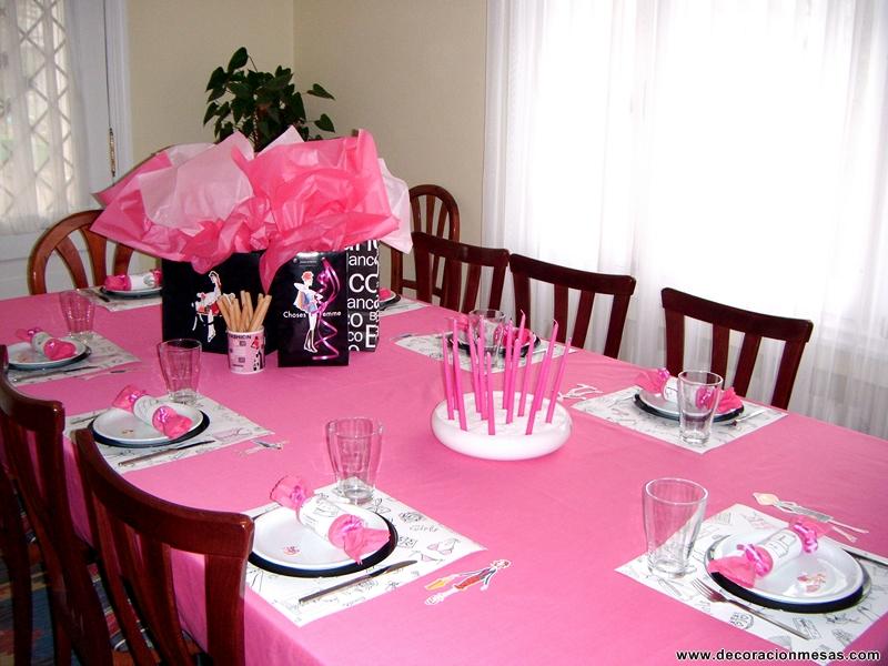 Decoracion de mesas mesa cumplea os - Decoraciones de salones de casa ...