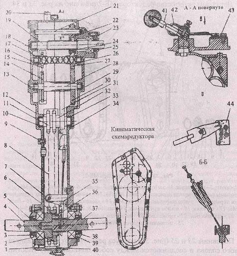 Редуктор мотоблока МБ-2 в
