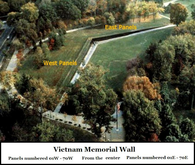 First Time viewing the Moving Vietnam Memorial Wall