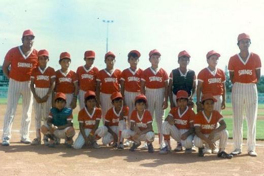 Representativo de Coahuila en el campeonato nacional de ligas pequeñas división menor de 1986