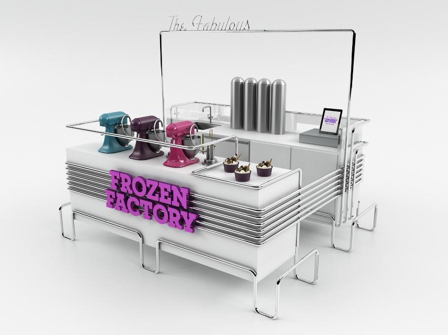 *極低溫現點現做冰淇淋:甜美風格小型冷凍工作臺! 9