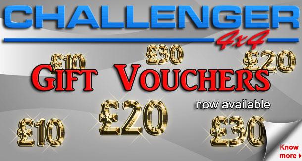 Challenger 4x4 Gift Voucher