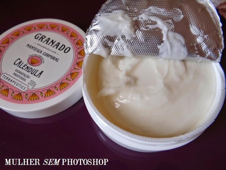 Resenha Manteiga Corporal Calêndula da Granado