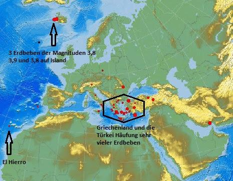 Erdbebenlage Europa 16.10.2011