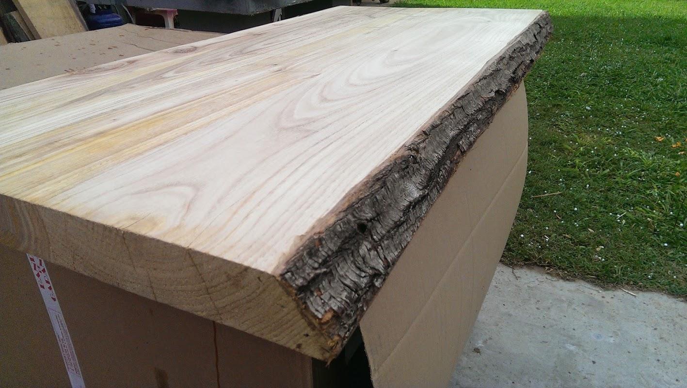 Tavolo da cucina piano in legno gambe in ferro 140x75x75 - Gambe in ferro per tavoli ...
