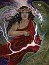 Hiiaka Hawaiian Resurrection Goddes Image
