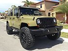 2013 Jeep Wrangler Unlimited Sahara Sport Utility 4-Door 3.6L