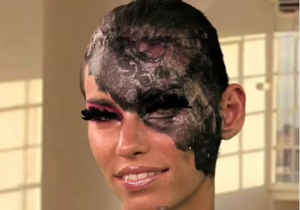 Lady Gaga inspired Halloween makeup tutorial