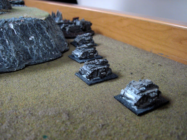 Onyx leading Rob's Chaos Marines