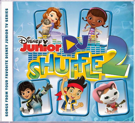 Disney Junior DJ Shuffle 2 has Disney music from some of your kids' favorite Disney Junior shows