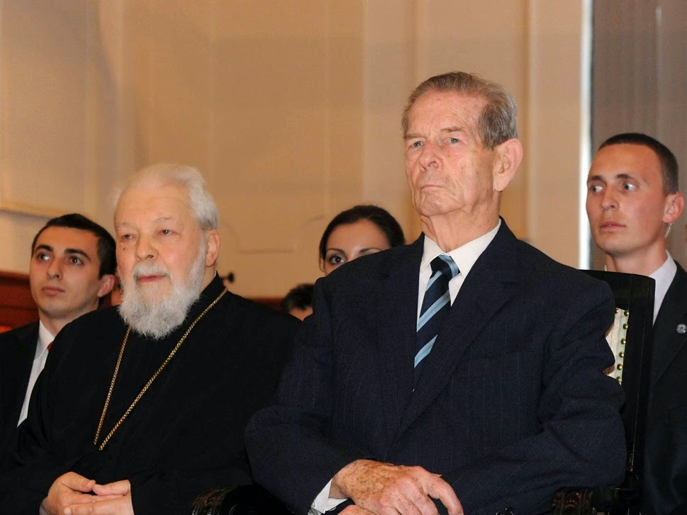 MS Regele Mihai si IPS Mitropolitul Nicolae al Banatului