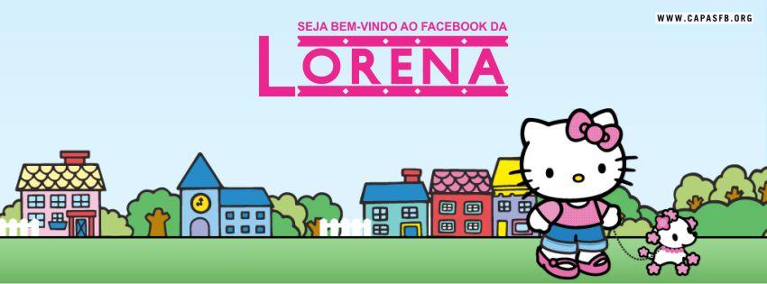 Capas para Facebook Lorena