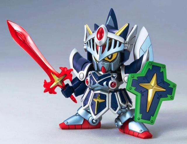 Lắp ghép Gundam không tỷ lệ, cao khoảng 8 cm