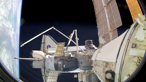 Shuttle Discovery While Docked with the Space Station.jpg