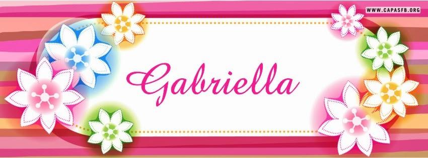 Capas para Facebook Gabriella
