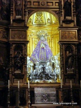 Virgen de los Llanos, patrona de Albacete, en la Catedral