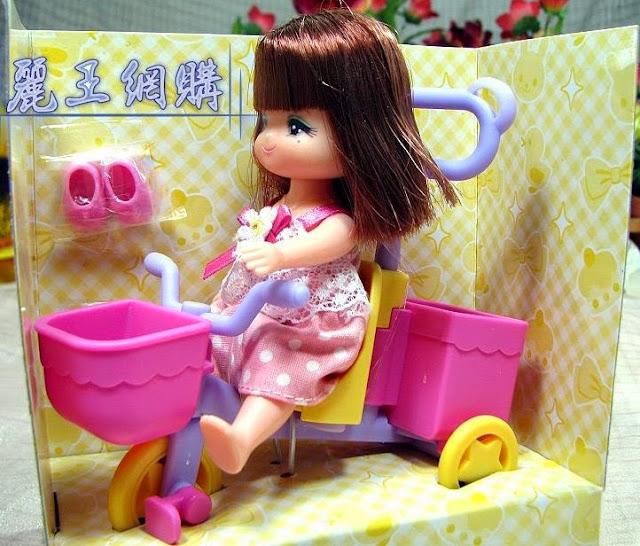 Búp bê Tricycle Maki thật ấm áp, thân thương