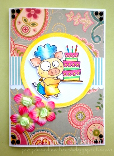 New Cards Update, birthday cards, big chef birthday card, floral birthday card