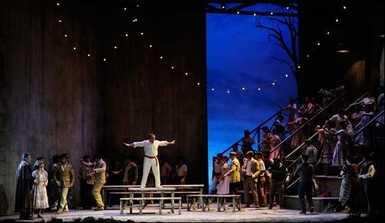 La zarzuela 'El Caserío',  en los Teatros del Canal del 21 al 25 de abril