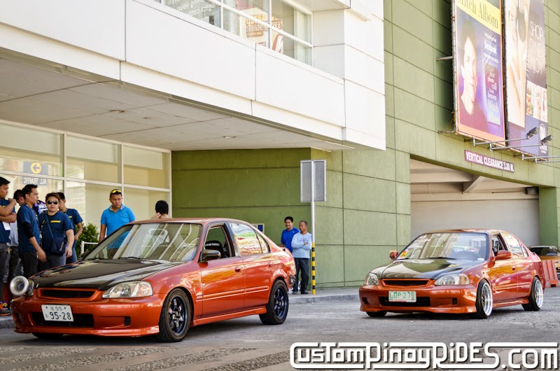 A Pair with a Passion for Orange Honda Civic EK SiR Custom Pinoy Rides Car Photography Modification Manila Philippines pic1