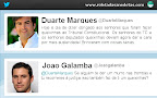 Luta agressiva no twitter entre Duarte Marques (PSD) e João Galamba (PS) sobre a austeridade